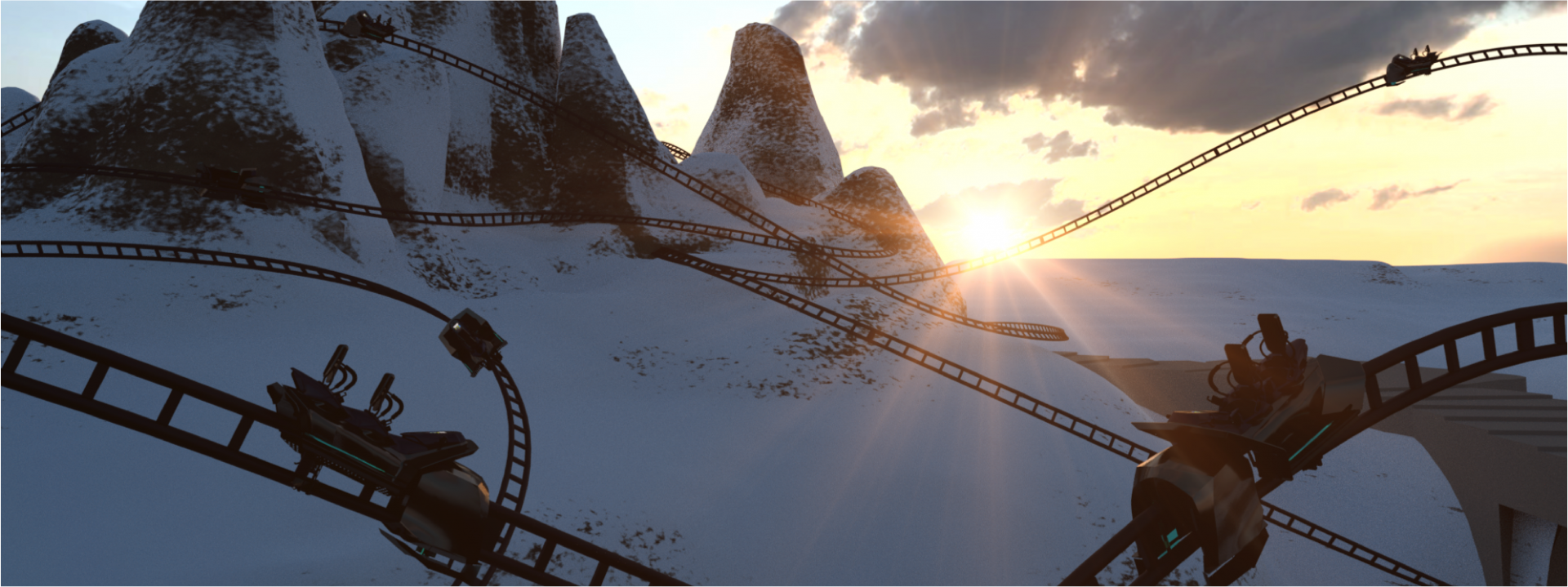 spike-mountains-snow-coaster